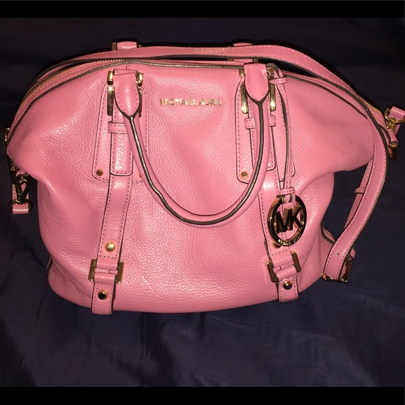 a2fb9cdd4e8c Michael Kors Bedford Satchel in Dusty Rose. M 5ad03aa685e605c8dbfa5100